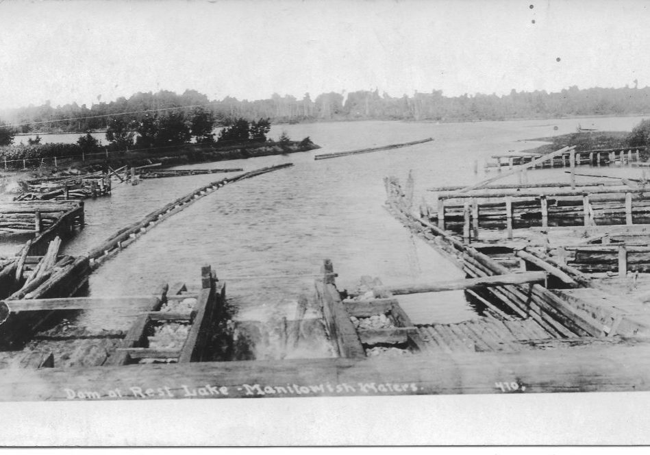 Rest Lake Dam 1921 Front